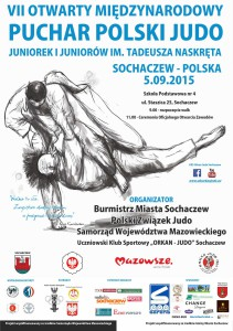 VIIP_Puchar Polski Judo_Sochaczew_plakat